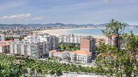 View on San Sebastian, Spain