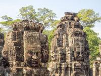 Face towers - Siem Reap