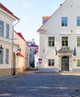 Architecture, Tallinn old town, Estonia