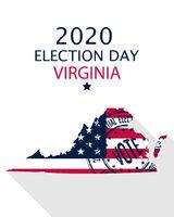2020 Virginia vote card