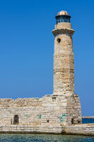 Lighthouse in Rethymno, Greece