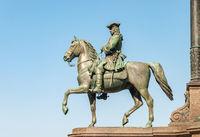Statue of Austrian military leader Leopold von Daun in Vienna