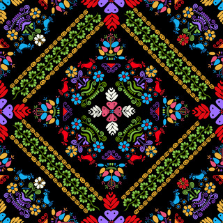 Hungarian embroidery pattern 34