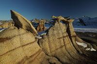 Bisti badlands, De-na-zin wilderness area, New Mexico, USA