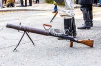Lewis automatic machine gun