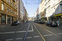 Empty Streets and Closed Businesses in Bahnhofsviertel Frankfurt During Covid-19 Lockdown