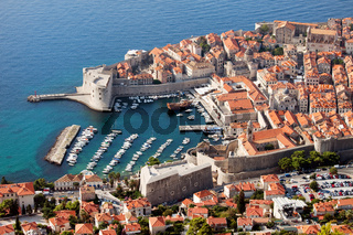 Dubrovnik Aerial View