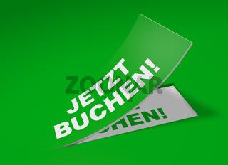 3D Etikett Grün - Jetzt buchen!