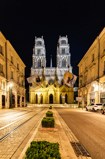 City of Orleans in France