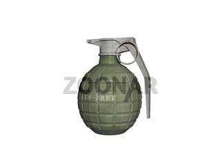 Handgranaten mit Sicherungsring