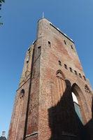 Turm der Heilige Gertrud Kirche Workum, Niederlande