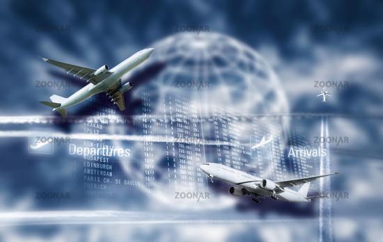 Flugverkehr und Globalisierung