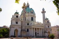 St. Charles Church or the Karlskirche in Vienna, Austria