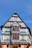 Fachwerkhaus in der Altstadt von Miltenberg in Unterfranken, Bayern