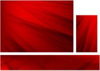 Abstrakter roter Hintergrund mit Streifen gesetzt