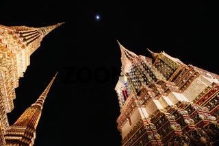 Wat Phra Chetuphon in Bangkok Thailand