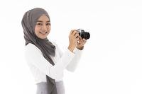 Muslim girl Camera