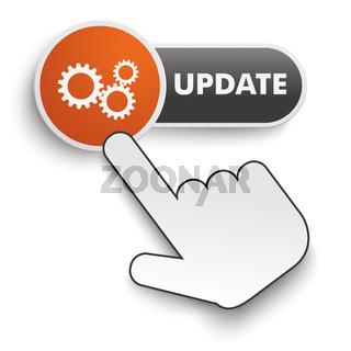 Update Button Hand Cursor