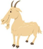 funny cartoon goat farm animal character