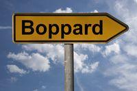 Wegweiser Boppard | signpost Boppard