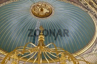 ISTANBUL, TURKEY - MAY 26 : Building in the grounds of the Hagia Sophia Museum in Istanbul Turkey on May 26, 2018