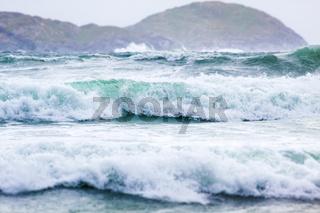 Waves at Derrynane Beach
