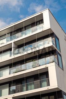 Neues Apartmenthaus in Hamburg