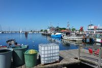 Fischereihafen in Burgstaaken, Fehmarn