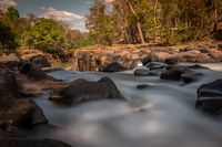 Tad Lo waterfalls in Bolaven Plateau, Southern Laos