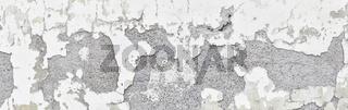 Detail eines abgeplatzten Fassadenputzes  an einem alten Bauernhaus. Rechte Seite.