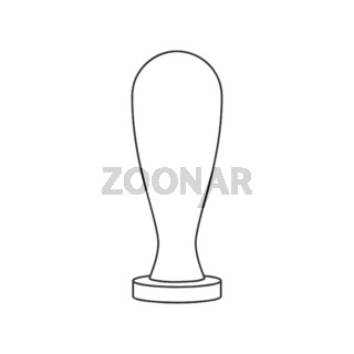 Wax Seal Stamp Icon Vector