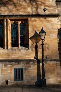 St Johns College, St Giles, Oxford University, England.