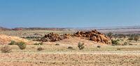 Brandberg mountain desert landscape, Namibia