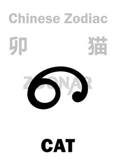 Astrology: CAT (sign of Chinese Zodiac)