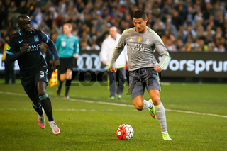 Manchester City Vs Real Madrid in Match 3 of the 2015 International Champions Cup Australia