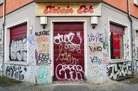 Ehemaliges Eisbein Eck, Berlin, Deutschland