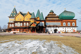 Great Wooden Palace in Kolomenskoe, Moscow