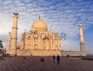 Taj Mahal eastern view, Agra, Uttar Pradesh, India