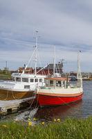Fischerhafen an der Atlantikstraße