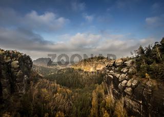 Morgenstimmung im Elbstandsteingebirge