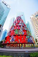 Singapore Momentum Sculpture in Asia