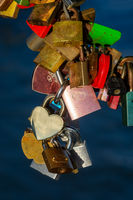 Locks as symbol for everlasting love