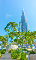 Burj Khalifa building in Dubai