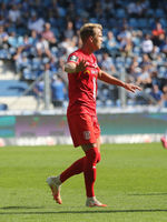 deutscher Fussballer Lukas Boeder  Hallescher FC DFB 3.Liga Saison 2020-21
