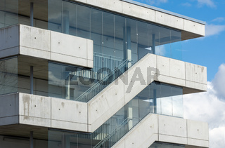 External stairs of a modern building