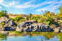 Rocks on Nile