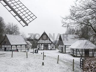 Bielefeld Farmhouse Museum in Winter