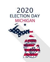 2020 Michigan vote card