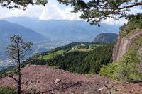 Knottnkino - Blick vom Aussichtspunkt auf dem Rotsteinkogel