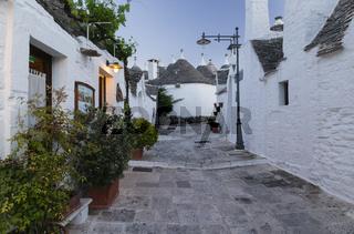 Dämmerung, Trullo, Alberobello